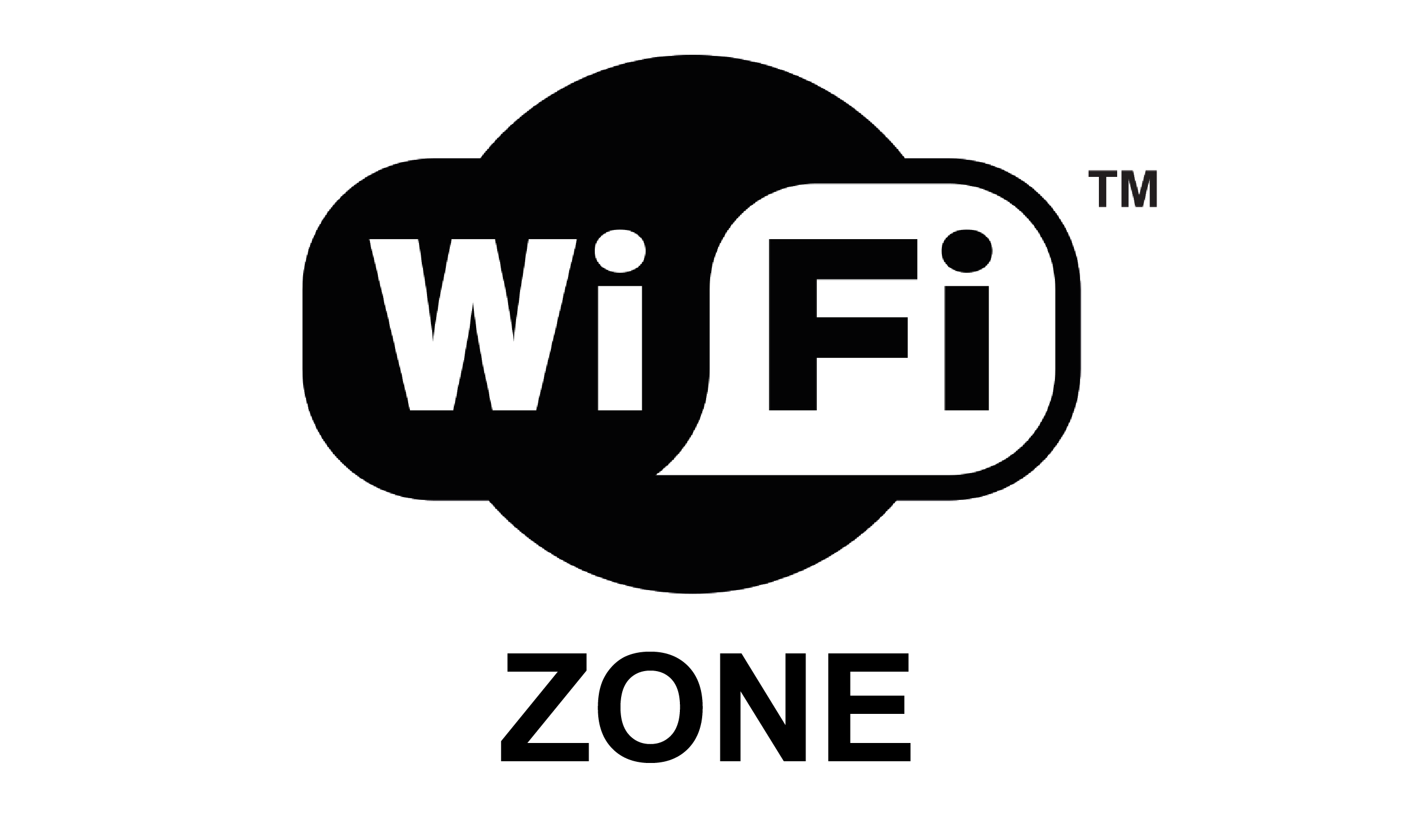 WiFi zone symbol labels