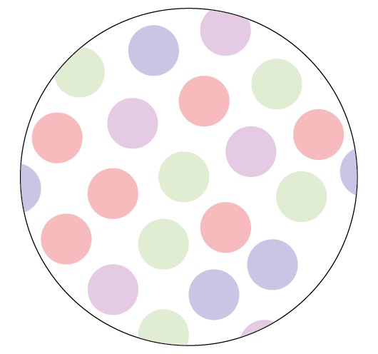 Dots Easter Themed Stickers