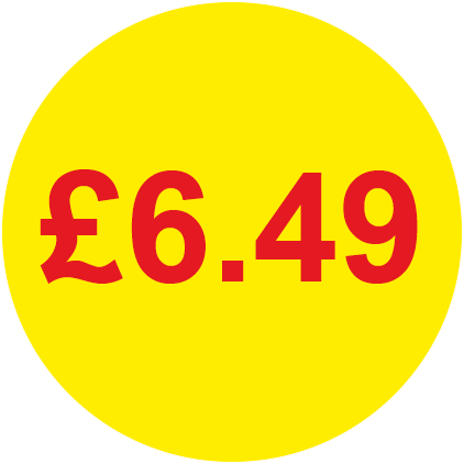 £6.49 Round Price Labels