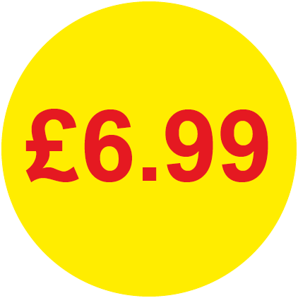 £6.99 Round Price Labels