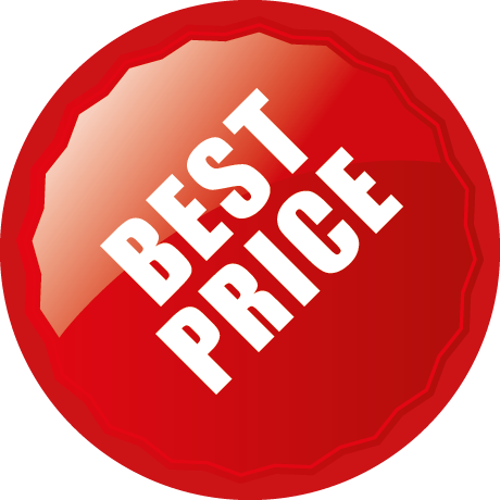 Best Price Round Labels With Shine Detail