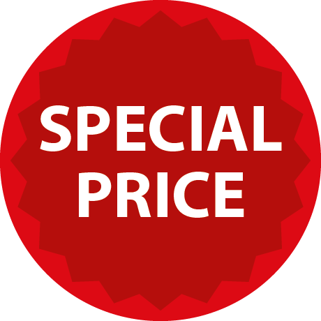 Special Price Round Labels With Detail