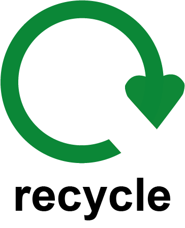 Recycling Circle Logo Labels