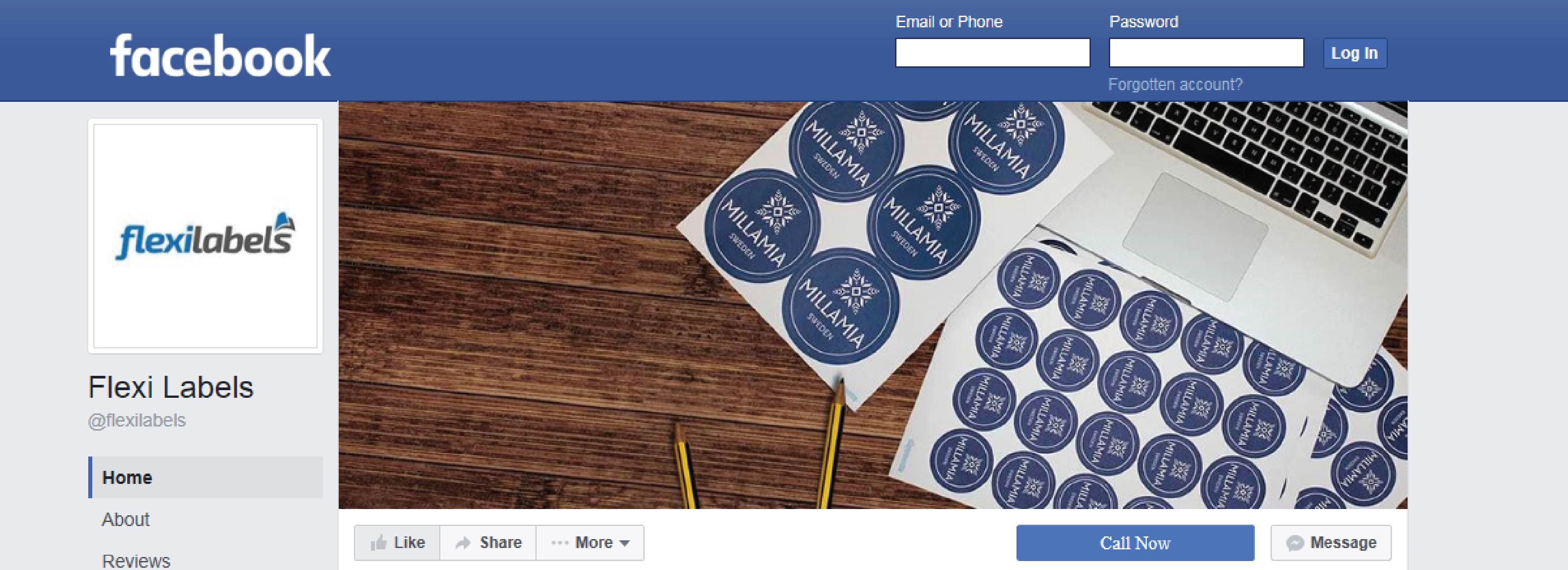 Follow Flexi Labels on Facebook!