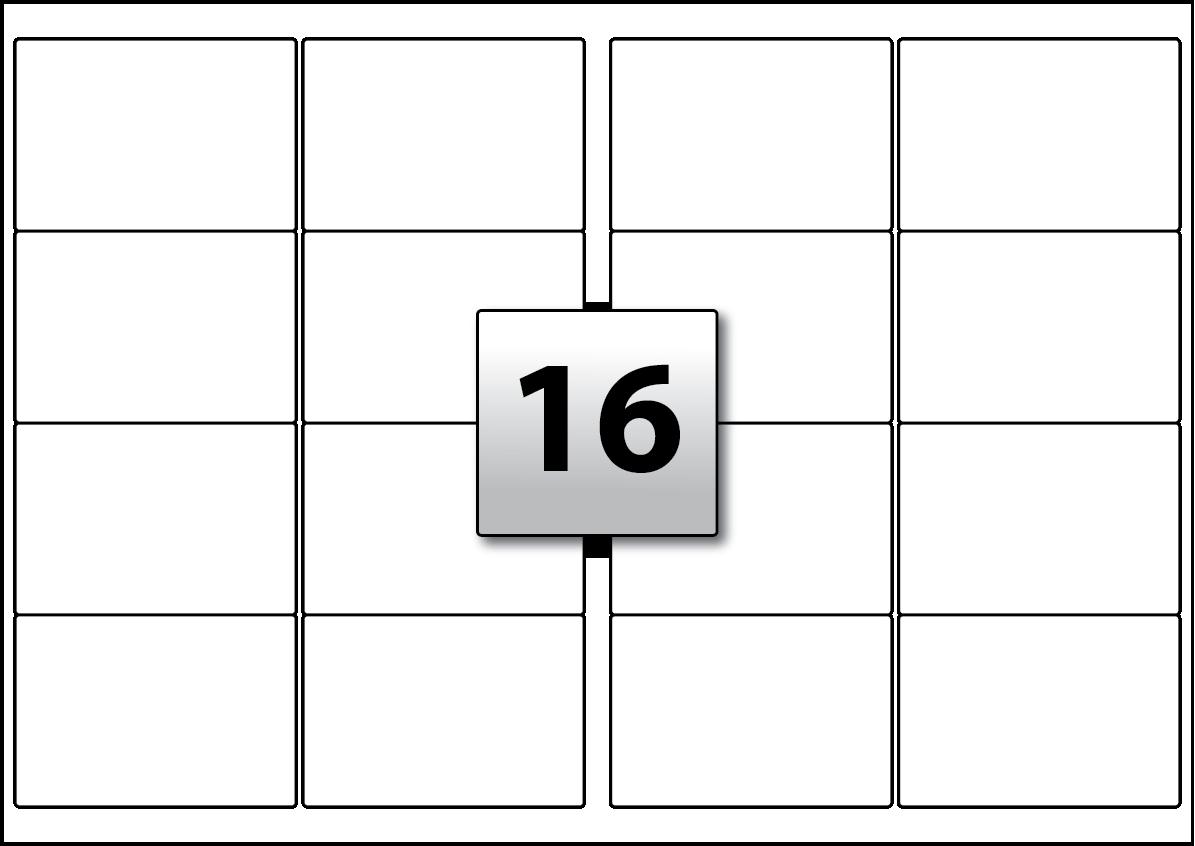 16 rectangle labels per a3 sheet 99 1 mm x 67 7 mm