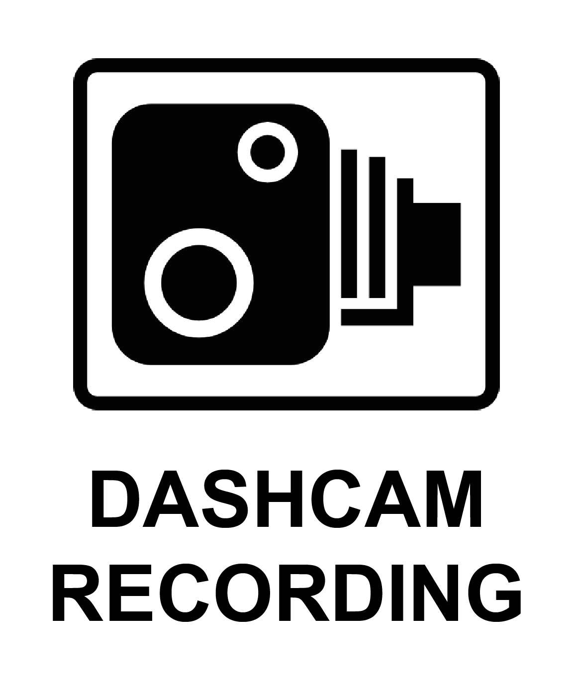 Dashcam recording portrait labels