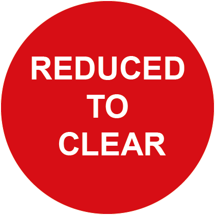 Reduced to Clear Round Special Offer Labels