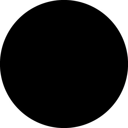 Black Dot Identification Round Labels