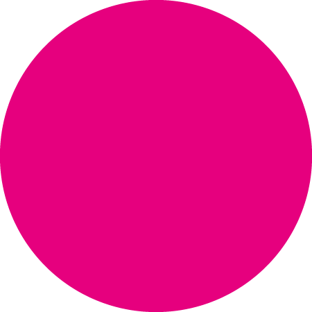 Pink Dot Identification Round Labels