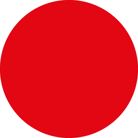 Red Dot Identification Round Labels