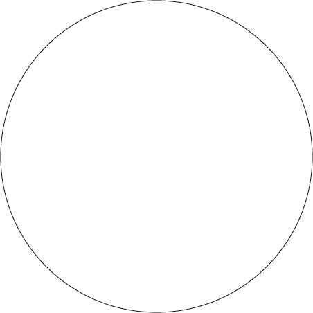 White Dot Identification Round Labels