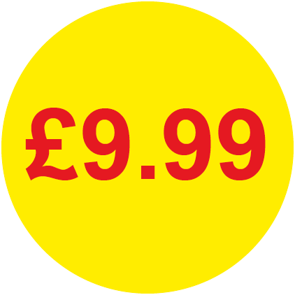 £9.99 Round Price Labels