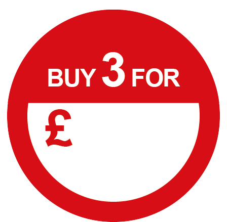 Buy 3 For Special Offer Round Labels