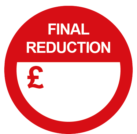Final Reduction Special Offer Round Labels