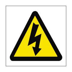 Standard Electric Danger Sticker